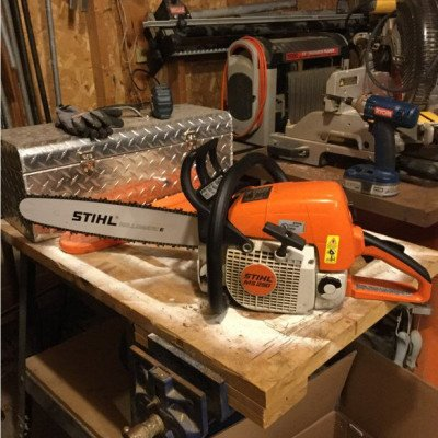 """stihl - chainsaw ms290 with 16"""" bar"""