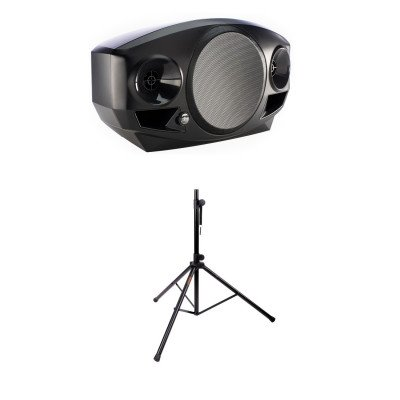 mackie freeplay portable pa speaker with stand