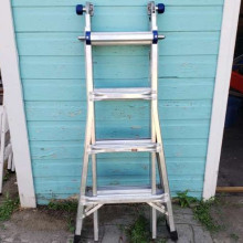Werner 17 ft ladder - multiposition