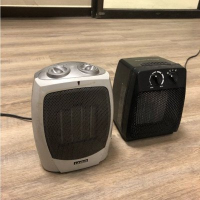small electric heaters - pair