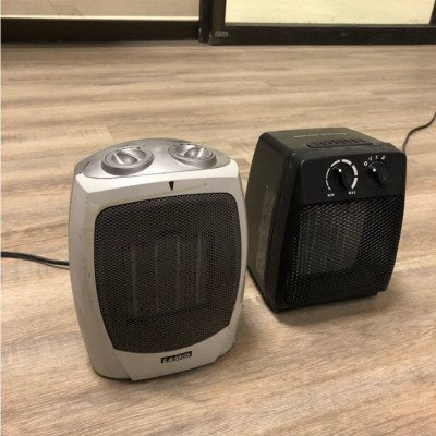 small electric heaters - pair-2