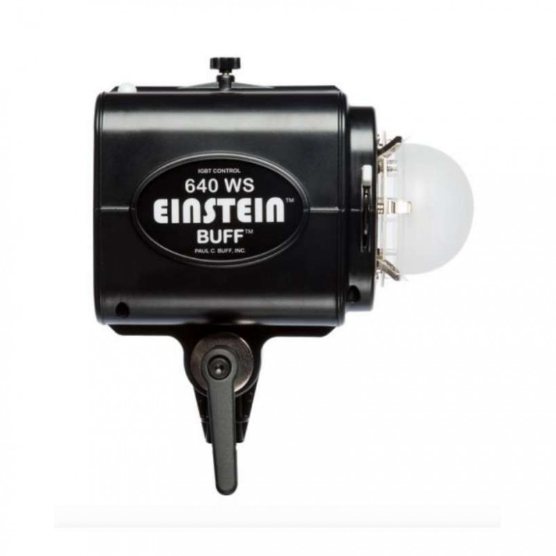 paul c. buff einstein 640 ws flash unit with lighting modifiers