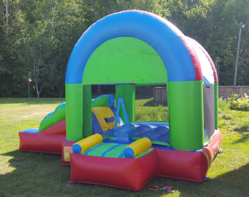 Green combo inflatable
