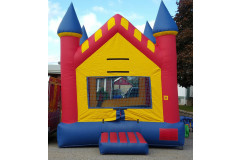 Castle bouncer inflatables