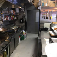 Kitchen & dining space- the filling station