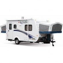 Travel trailer - 2011 18ft jay feather hybrid