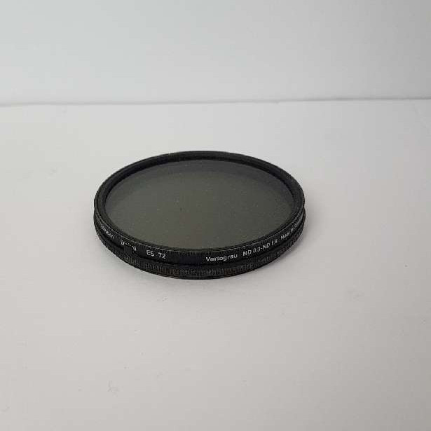 Heliopan variable ND 72 mm filter