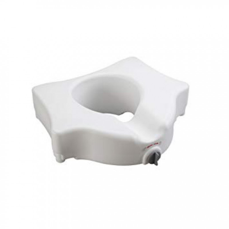 raised toilet seat - without arms-1