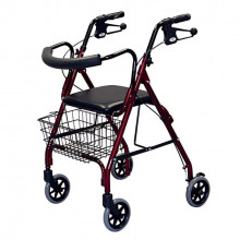 Walker - type 2 with seat & basket