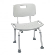 Bath seat - with back