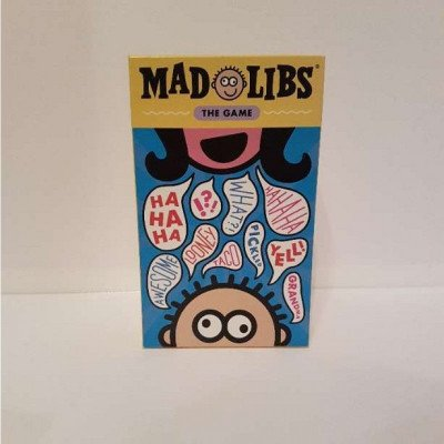 mad libs the game - board game