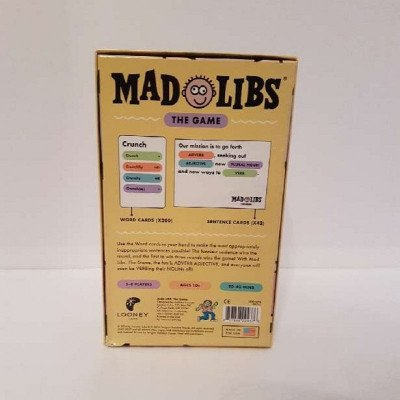 mad libs the game - board game-1