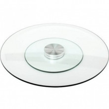 Lazy susan plate