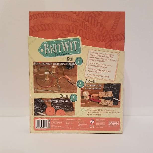 Knitwit - board game