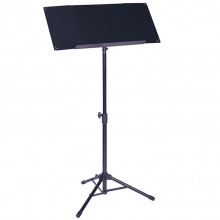 Large black music stand