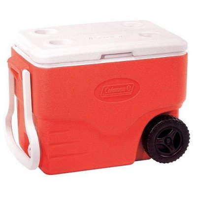 40-quart wheeled cooler picture 1