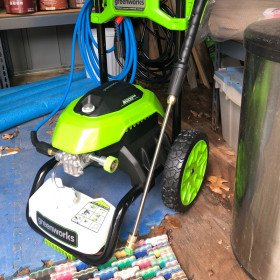 Greenworks Electric Power Washer (brand new!)