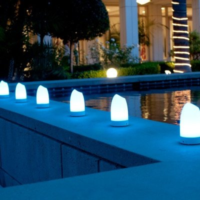 Portable event lights with remote lighting color control picture 6