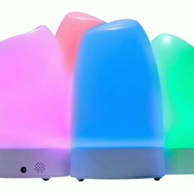 Portable event lights with remote lighting color control picture 2