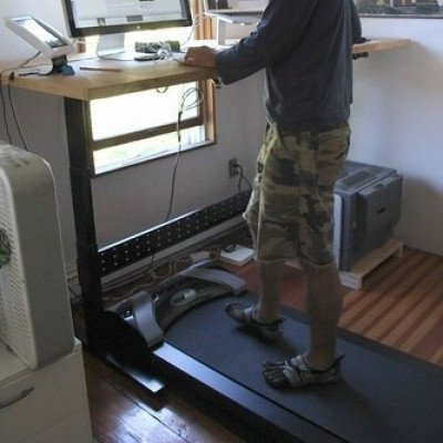 Treaddesk walking treadmill for standing desk and home office picture 1
