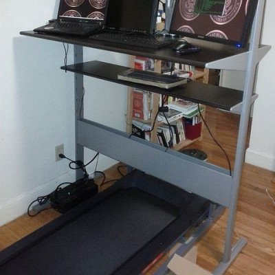 Treaddesk walking treadmill for standing desk and home office picture 4