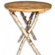 Rustic Wooden Cruiser Table