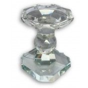 "Crystal 6"" Candle Holder"