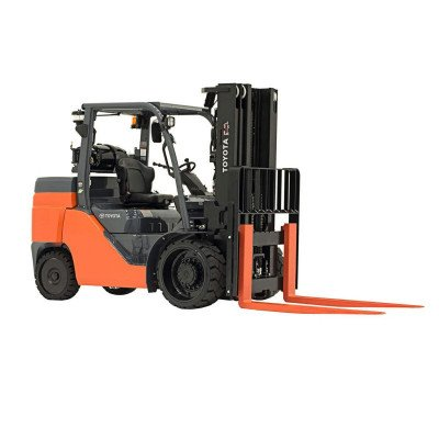 warehouse forklift - 8000 lbs - gas
