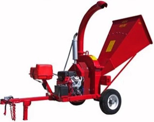 "Towable 5"" Wood Chipper"