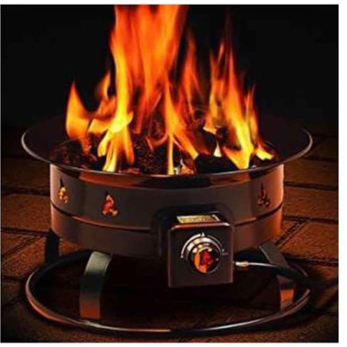 portable propane fireplace-2