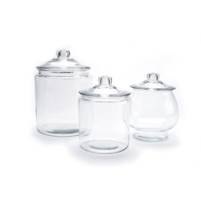 Round Glass Candy Jar picture 1