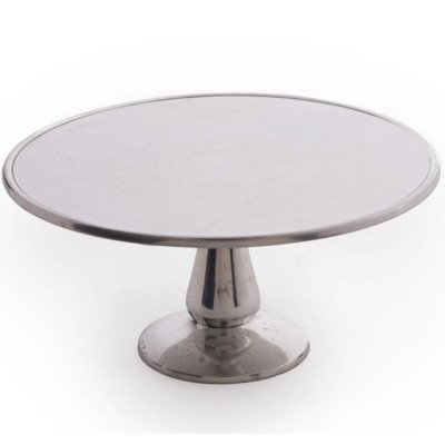 12 inch Aluminum Cake Stand picture 1