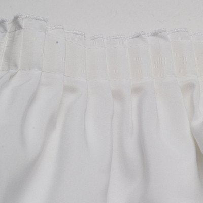 White Banquet Table Skirting picture 1