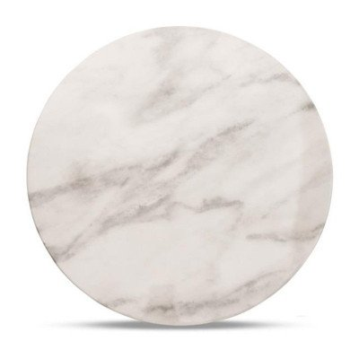 "13"" Round Marble Charger picture 1"