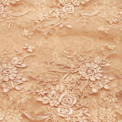 14 x 108 inch Champagne Elegance Lace Table Runner picture 1