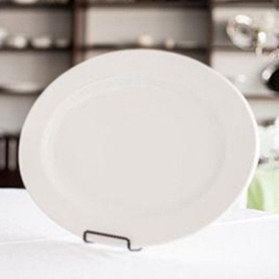 22 inch White Oval Platter picture 2
