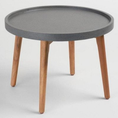 "24"" Grey Accent End Table picture 1"