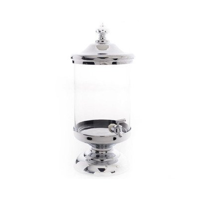 2.5gal Chrome and Glass Beverage Server picture 1