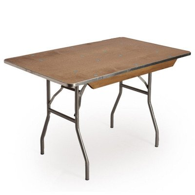 4 foot x 30 inch Wood Top Table picture 1