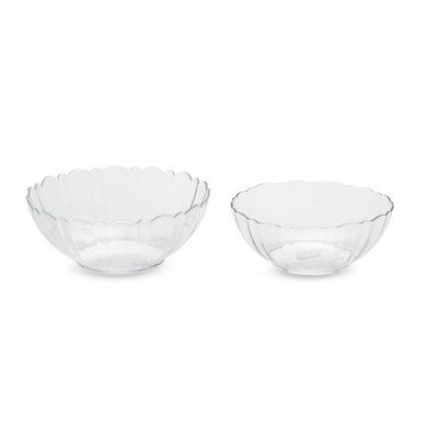6 cup 8 inch Glass Serving Bowl picture 2