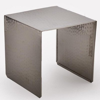 7 x 7 x 6 inch Hammered Food Display Riser picture 3