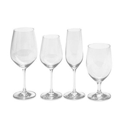 7.7 ounce Champagne Forte Flute Glass Rack of 36 picture 2