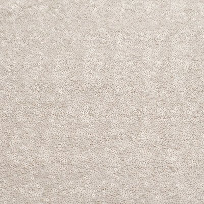 8 foot Full Length White Glitz Tablecloth picture 1