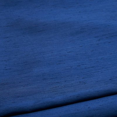 8 foot Navy Blue Full Length Dupioni Tablecloth picture 1