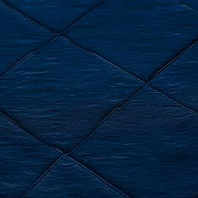 8 foot Navy Blue Full Length Pintuck Tablecloth picture 1