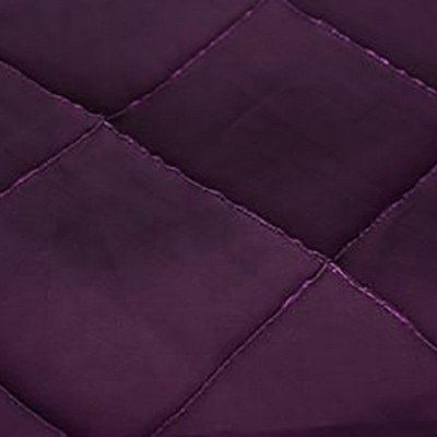 8 foot Plum Full Length Pintuck Tablecloth picture 1
