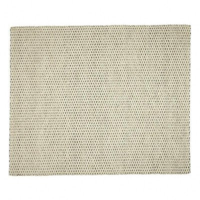8 x 10 Jute Black And White Rug picture 1