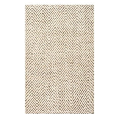 8 x 11 Tan Woven Norcross Rug picture 1