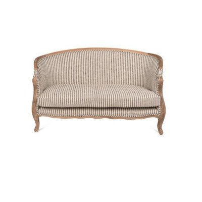 Bergere Upholstered Settee picture 1