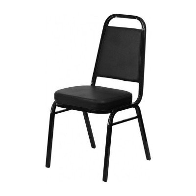 Black Stacking Banquet Chair picture 1